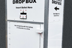 Drop Box Graphics for Maryland State Board of Elections